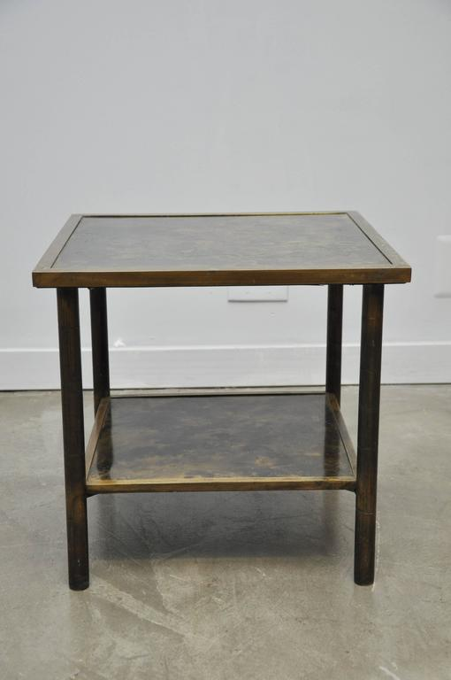 Philip and Kelvin LaVerne Bronze Side Table 3