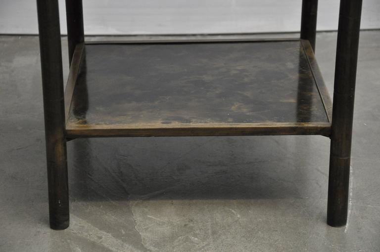 Philip and Kelvin LaVerne Bronze Side Table 5