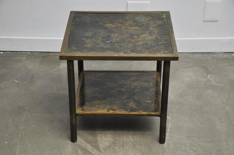 Philip and Kelvin LaVerne Bronze Side Table 6