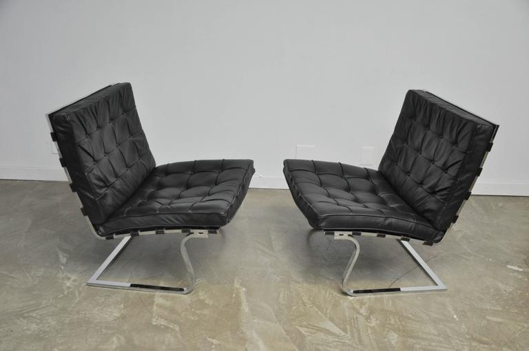 Mies Van Der Rohe Tugendhat Lounge Chairs for Knoll 2