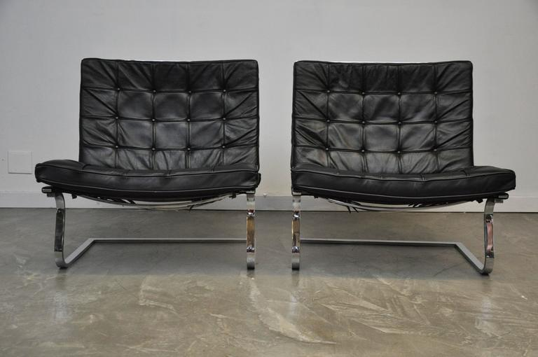 Mies Van Der Rohe Tugendhat Lounge Chairs for Knoll 4
