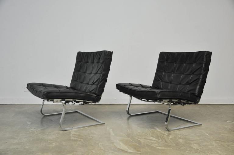 Mies Van Der Rohe Tugendhat Lounge Chairs for Knoll 5