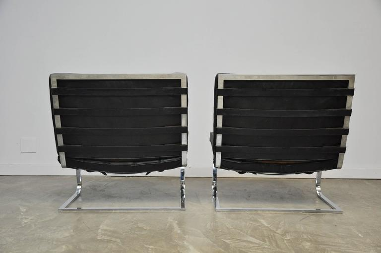 Mies Van Der Rohe Tugendhat Lounge Chairs for Knoll 6