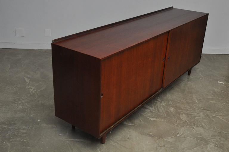 Mid-Century Modern Finn Juhl Walnut Sideboard For Sale