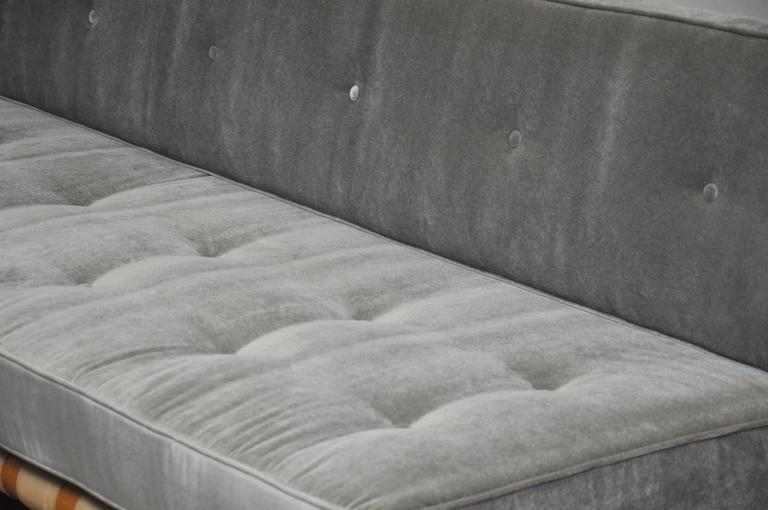 20th Century T.H. Robsjohn-Gibbings Strapped Frame Sofa Daybed