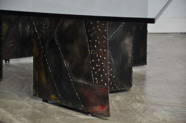 Mid-Century Modern Paul Evans Double Zig Zag Coffee Table For Sale