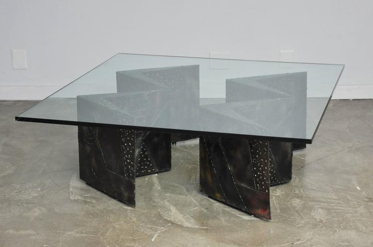 Paul Evans Double Zig Zag Coffee Table For Sale 2