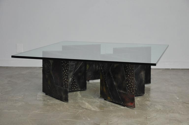 Paul Evans Double Zig Zag Coffee Table For Sale 1