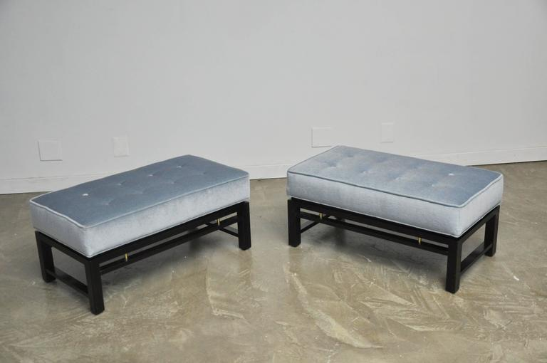 Pair of Dunbar Benches, Edward Wormley 3