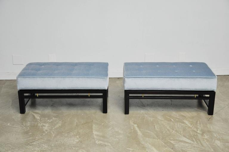 Pair of Dunbar Benches, Edward Wormley 4