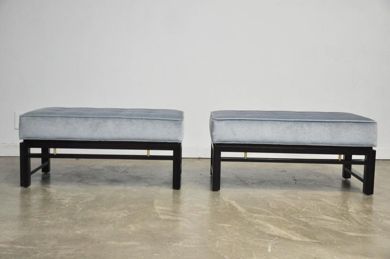 Pair of Dunbar Benches, Edward Wormley 5