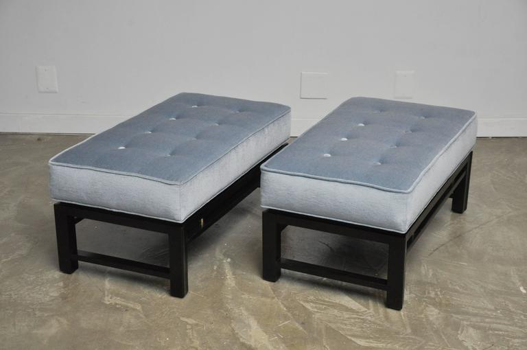 Pair of Dunbar Benches, Edward Wormley 2