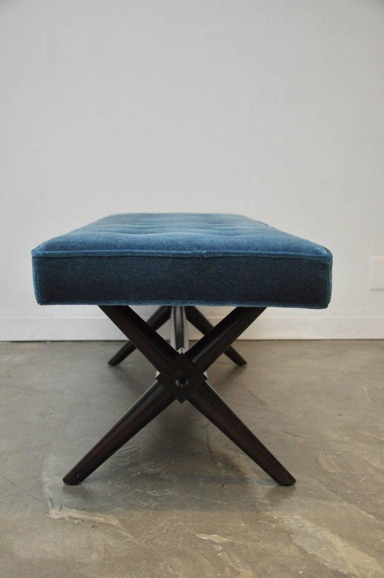 American T.H. Robsjohn-Gibbings X-Base Bench For Sale