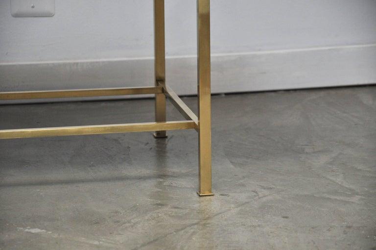 Harvey Probber Brass Frame Bench 3