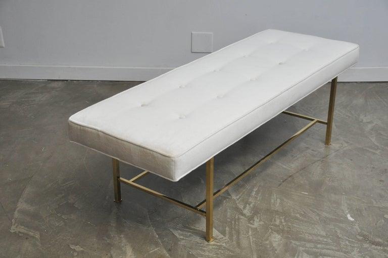 Harvey Probber Brass Frame Bench 4