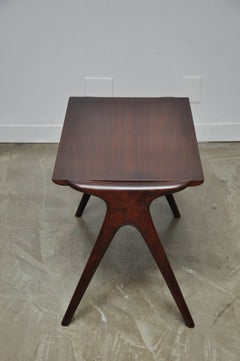 Vladimir Kagan Walnut Side Table