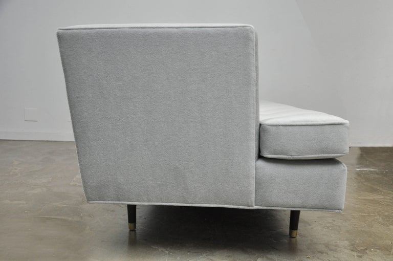 Brass Dunbar Sofa by Edward Wormley For Sale