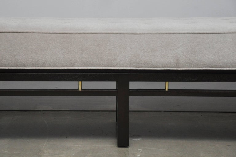 Mid-Century Modern Dunbar Bench by Edward Wormley For Sale