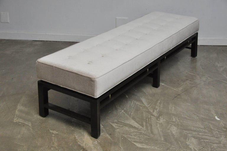 Dunbar Bench by Edward Wormley In Excellent Condition For Sale In Chicago, IL