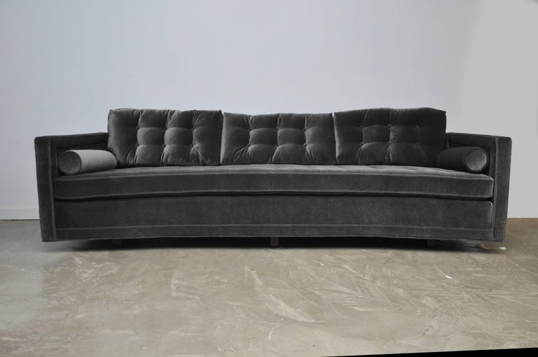 Mid-Century Modern Harvey Probber Curved Sofa For Sale