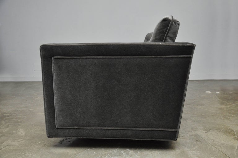 20th Century Harvey Probber Curved Sofa For Sale