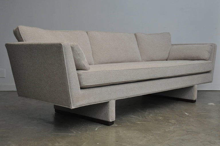 20th Century Dunbar Sofa by Edward Wormley, Model 5485 For Sale