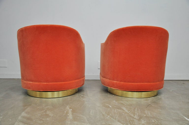Harvey Probber Swivel Chairs For Sale 1