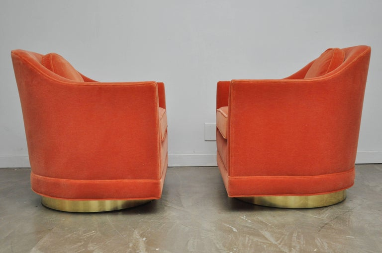Mid-Century Modern Harvey Probber Swivel Chairs For Sale