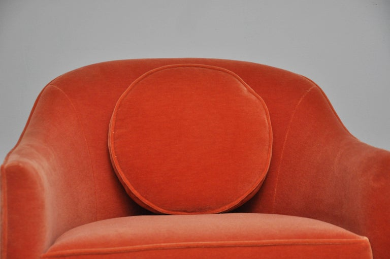 Brass Harvey Probber Swivel Chairs For Sale