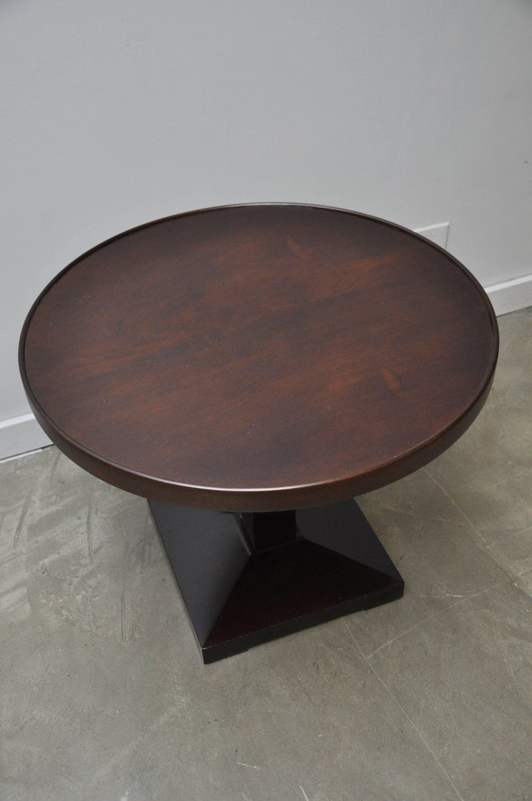 Mahogany Dunbar Occasional Side Table by Edward Wormley For Sale