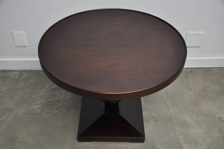 20th Century Dunbar Occasional Side Table by Edward Wormley For Sale