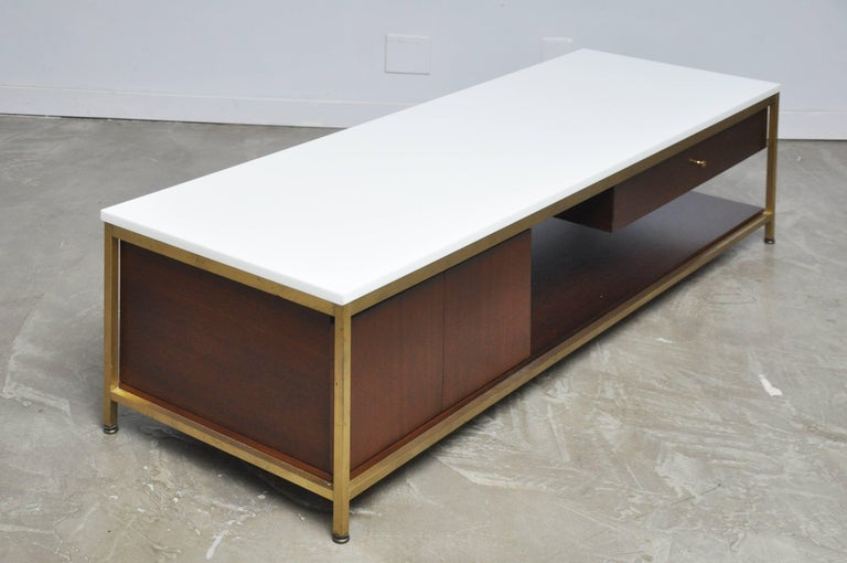 Paul McCobb Console Cocktail Table For Sale 1