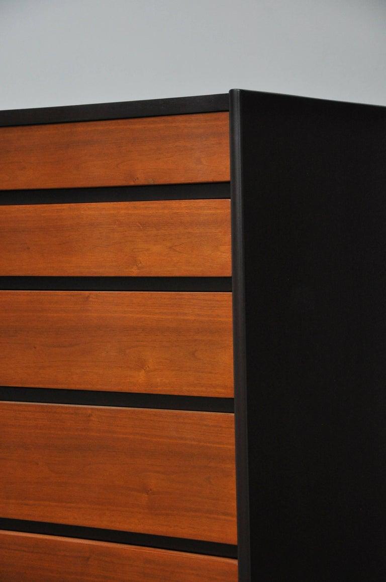 Mid-Century Modern Dunbar Tall Six-Drawer Dresser by Edward Wormley For Sale