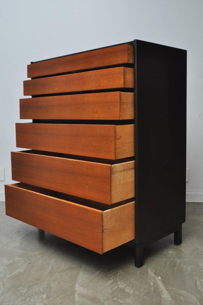 Dunbar Tall Six-Drawer Dresser by Edward Wormley For Sale 1
