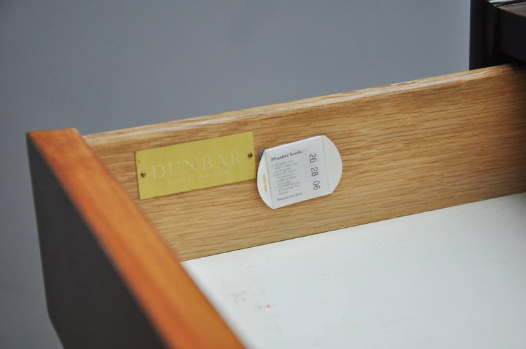 Dunbar Tall Six-Drawer Dresser by Edward Wormley For Sale 2