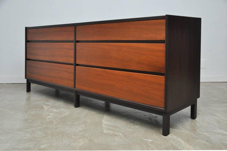 Mid-Century Modern Dunbar Six-Drawer Dresser by Edward Wormley For Sale