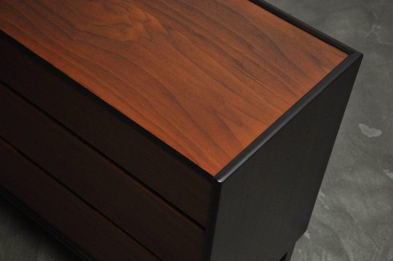 Walnut Dunbar Six-Drawer Dresser by Edward Wormley For Sale