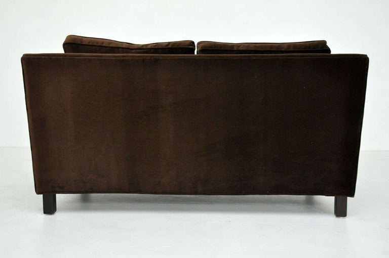 Dunbar Pair of Settee Sofas by Edward Wormley 1