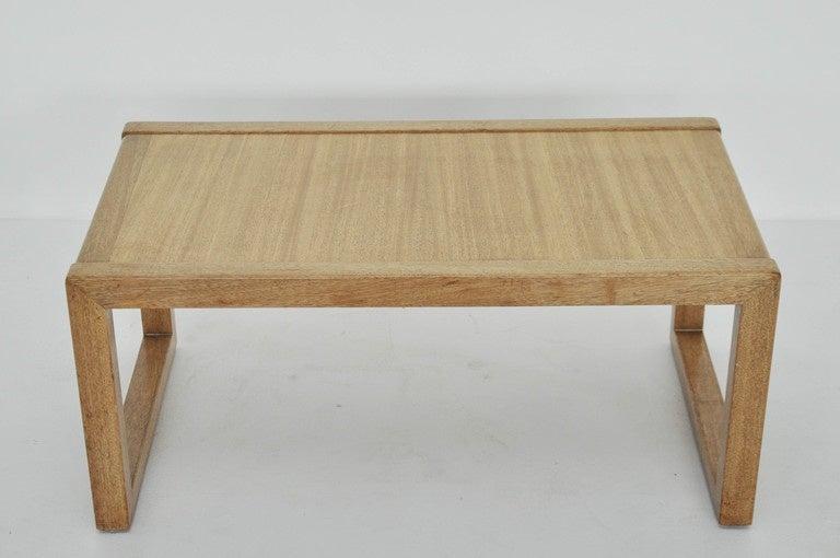 Early design coffee table by Edward Wormley for Dunbar.