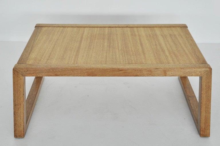 Mid-Century Modern Early Dunbar Coffee Table by Edward Wormley For Sale