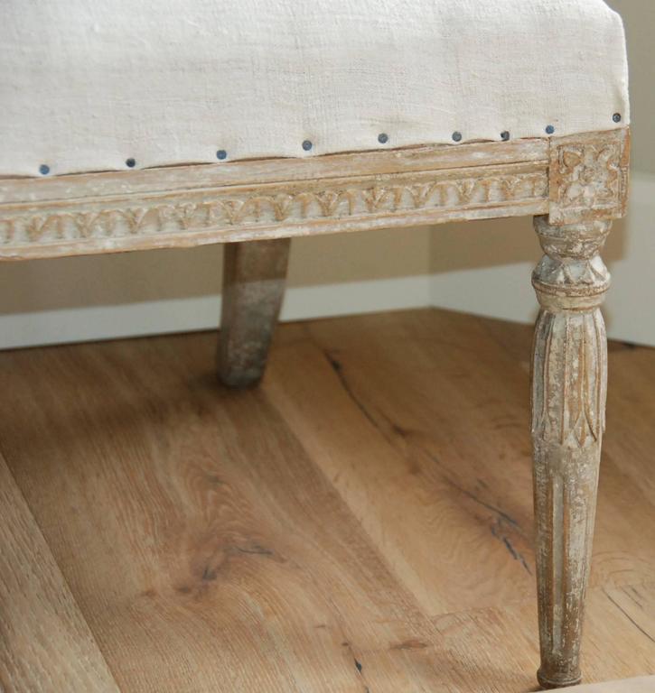 19th Century Swedish Barrel Back Sofa For Sale 4