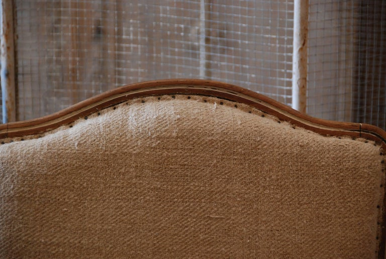 Pair of 19th Century French Bergère Chairs For Sale 3
