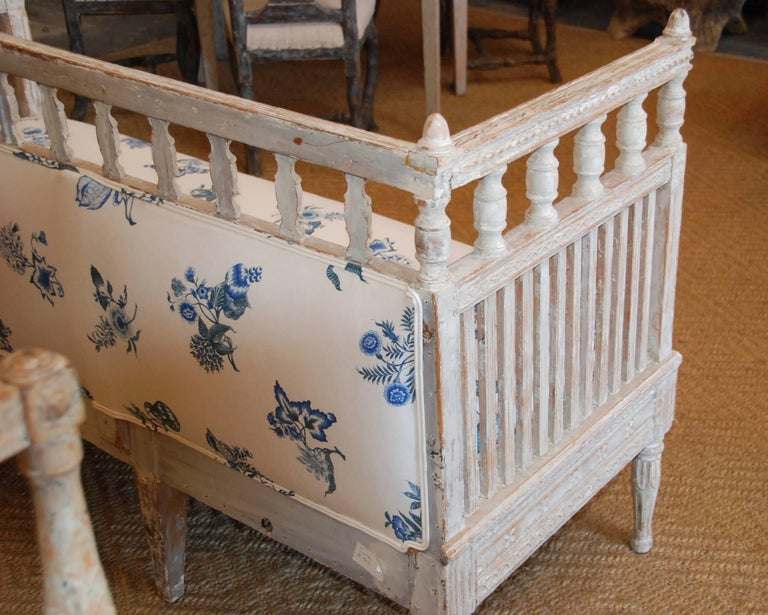 18th Century and Earlier 18th Century Period Swedish Gustavian Sofa For Sale