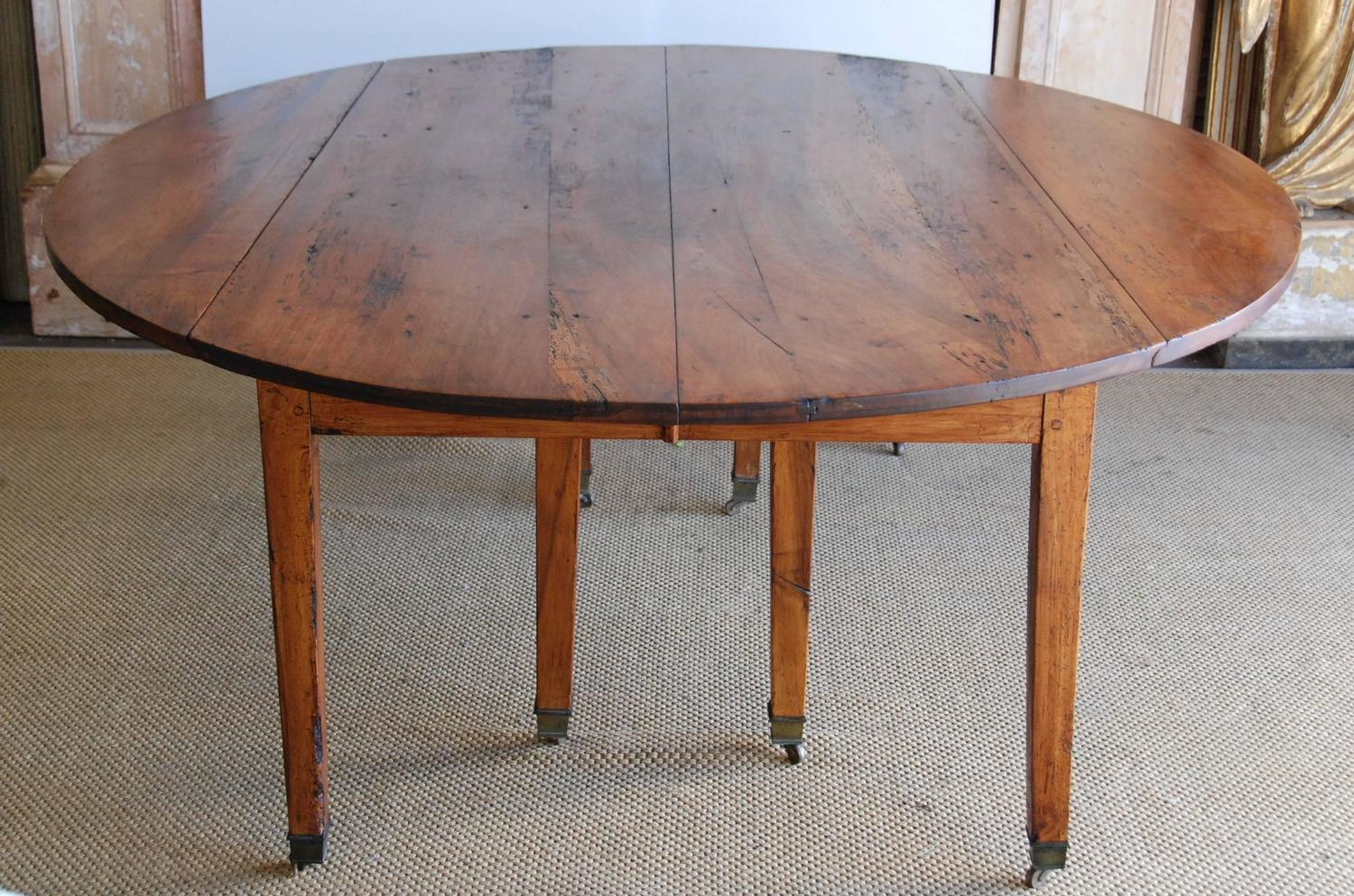 19th century french walnut large dining table seats 16 for Dining room tables that seat 16