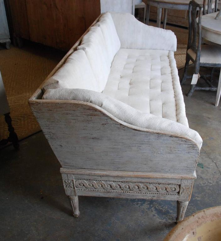 18th Century Swedish Trag Sofa For Sale 2