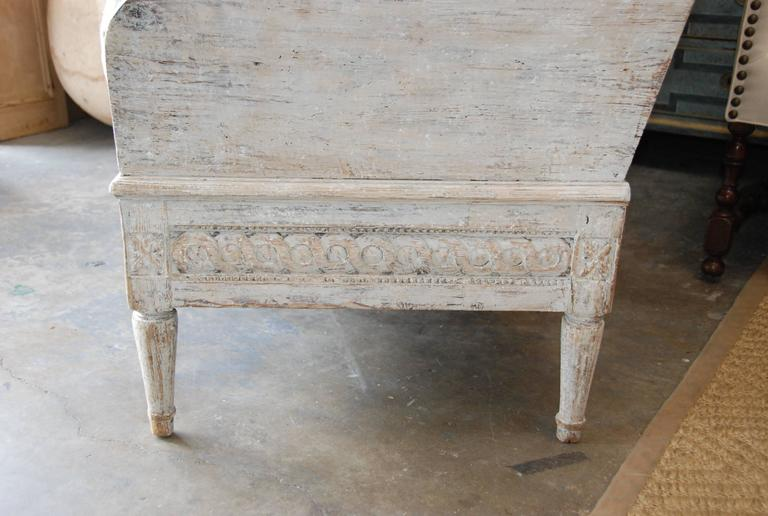 18th Century Swedish Trag Sofa For Sale 5