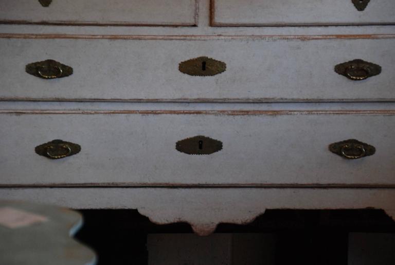 18th Century Swedish Rococo Cabinet 5