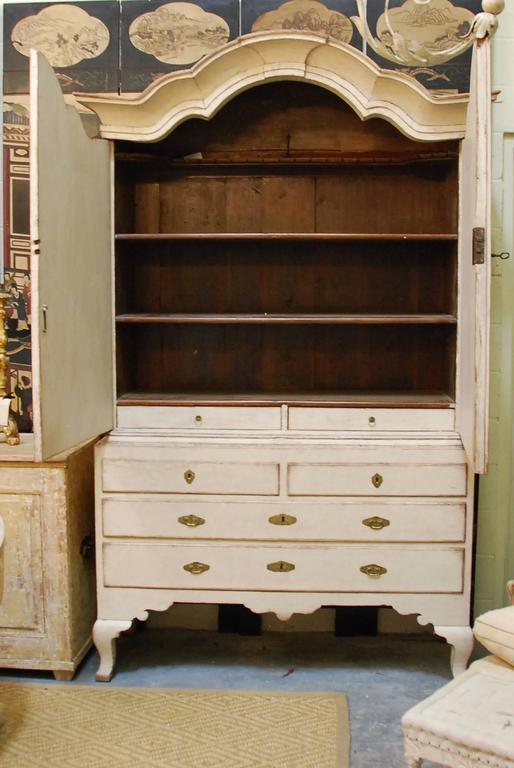 18th Century Swedish Rococo Cabinet 10