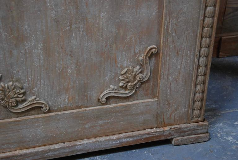 19th Century Swedish Carved Sideboard For Sale 4
