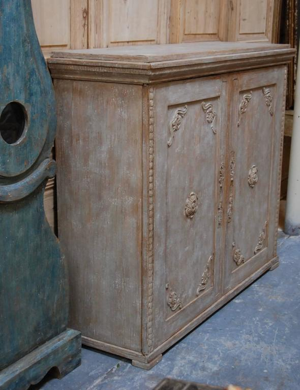 19th Century Swedish Carved Sideboard For Sale 7